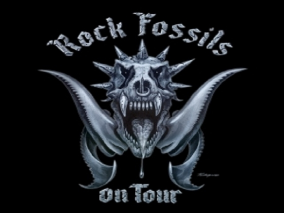 Rock Fossils on tour